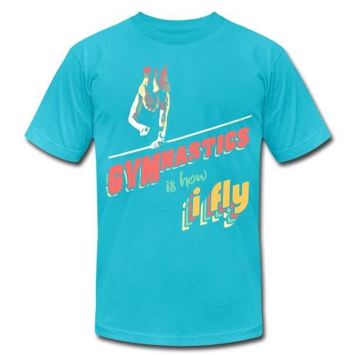 Gymnastics is how i fly - Men's Fine Jersey T-Shirt