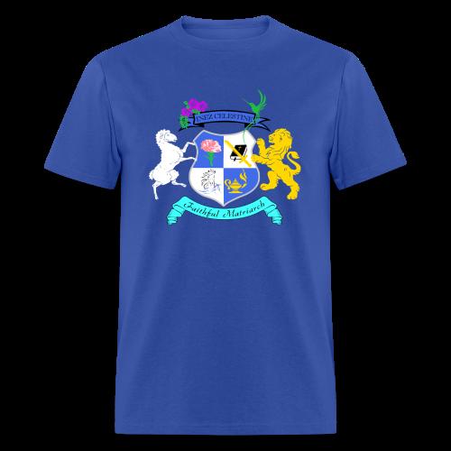 Inez Celestine Coat of Arms (Men's SWAG Branded Apparel) - Men's T-Shirt