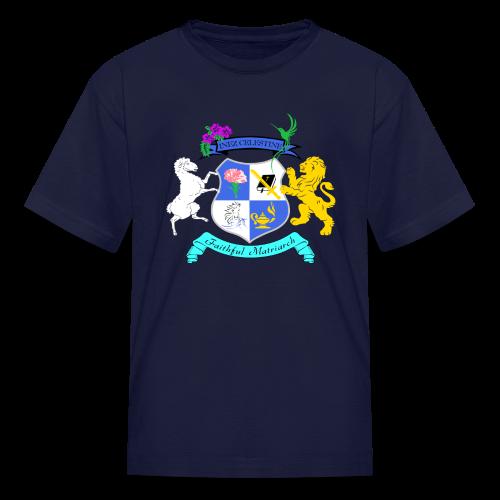 Inez Celestine Coat of Arms (Kid's SWAG Branded Apparel) - Kids' T-Shirt