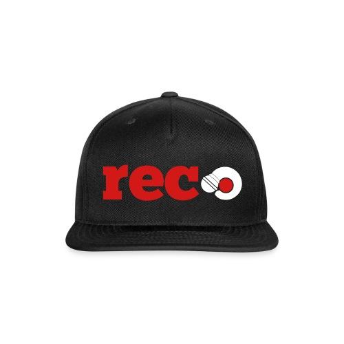 Record Repeat Flat Brim Hat - Snap-back Baseball Cap