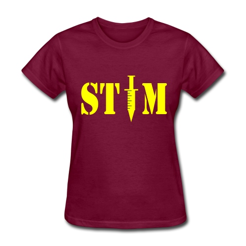 STIM - Woman's Burgandy T - Women's T-Shirt