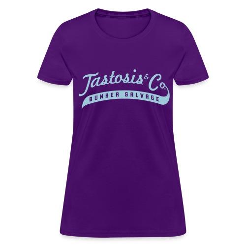 Tastosis & Co - Woman's Purple T - Women's T-Shirt