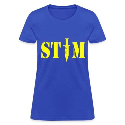 STIM - Woman's Royal Blue T - Women's T-Shirt