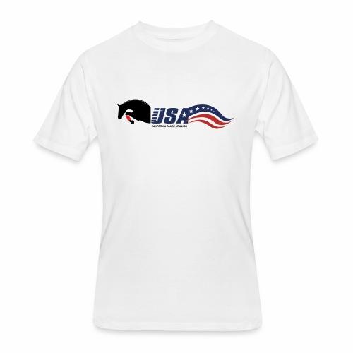 Showjumping - Men's 50/50 T-Shirt