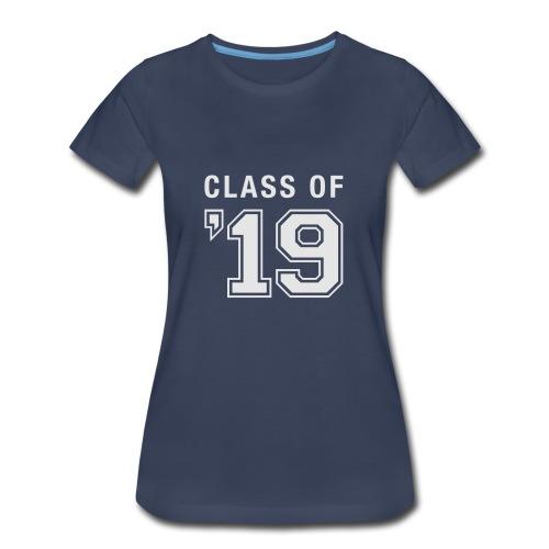 Class of 19 t-shirt (womens) - Women's Premium T-Shirt