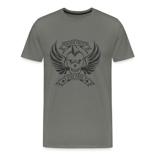 Born Free, Stay Free - Men's Premium T-Shirt