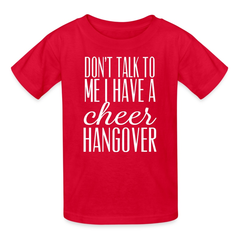 cheer hangover KIDS t-shirt - Kids' T-Shirt