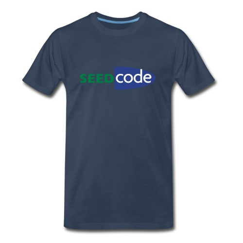 SeedCode Logo Men's - Men's Premium T-Shirt
