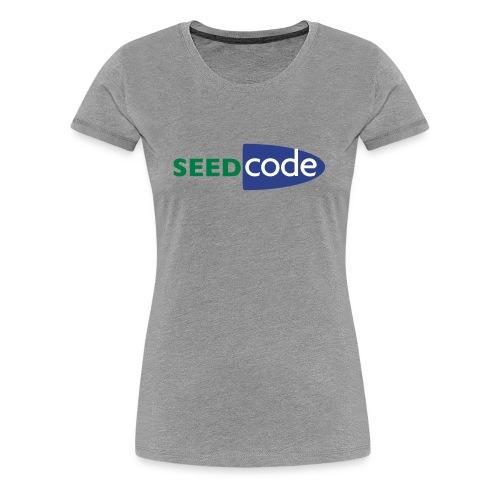 SeedCode Logo Women's - Women's Premium T-Shirt