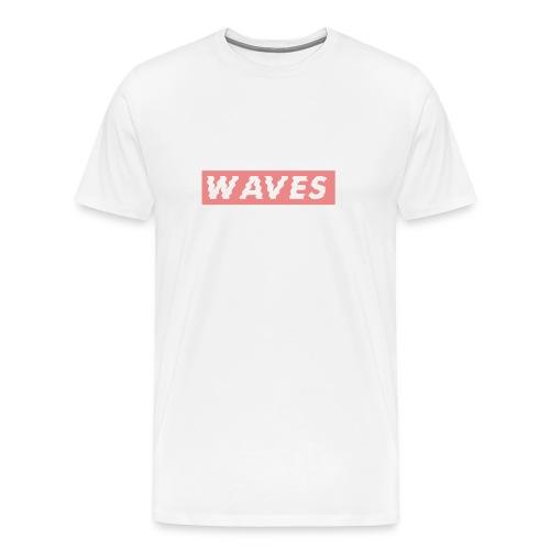 Waves Supreme T-Shirt - Men's Premium T-Shirt