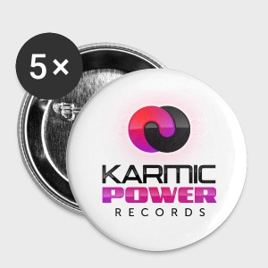 Large Buttons Karmic Power Records - Large Buttons