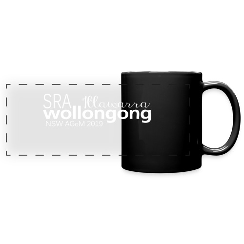 Full Color Panoramic Mug NSW SRA AGoM 2019 - Full Color Panoramic Mug