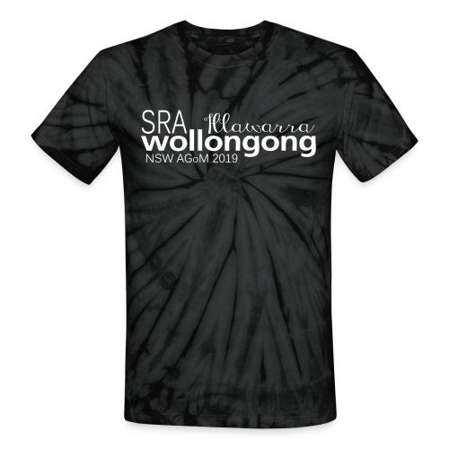 Unisex Tie Dye T-Shirt NSW SRA AGoM 2019 - Unisex Tie Dye T-Shirt