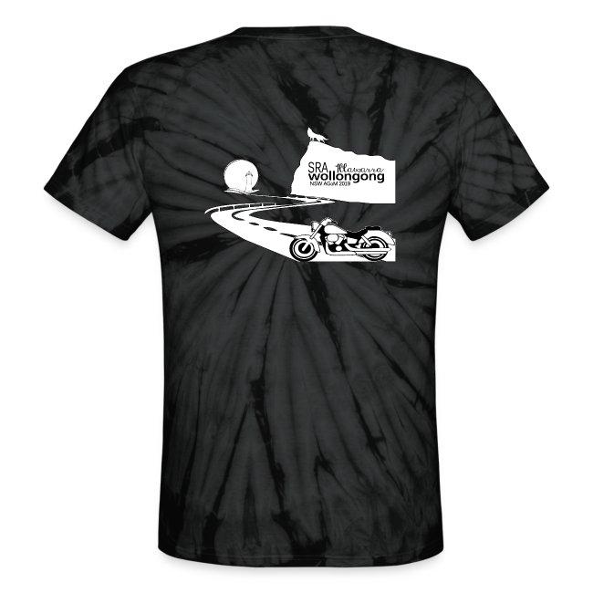 Unisex Tie Dye T-Shirt NSW SRA AGoM 2019