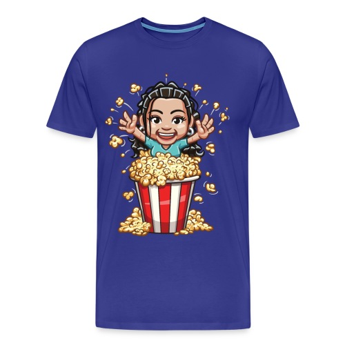 Crystal Busting out of Popcorn! Big & Tall - Men's Premium T-Shirt