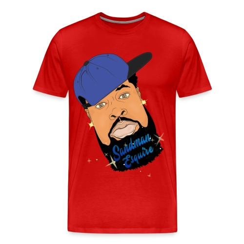 Sandman Face Tee - Men's Premium T-Shirt