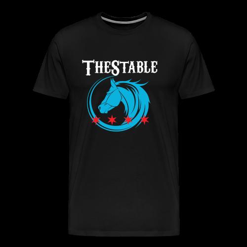 Stable - Stars - Horse - white - Men's Premium T-Shirt