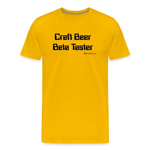 Craft Beer Beta Taster Men's Premium T-Shirt - Men's Premium T-Shirt