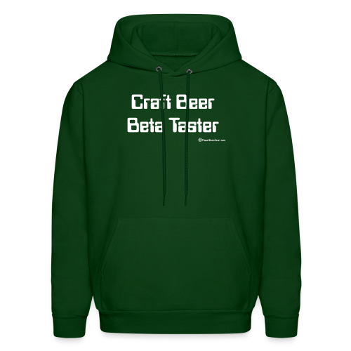 Craft Beer Beta Taster Men's Hoodie - Men's Hoodie