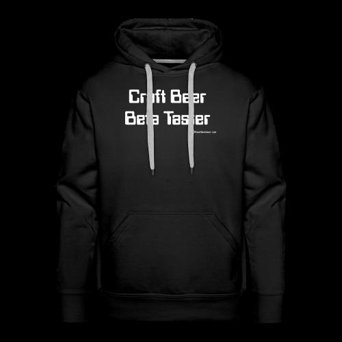 Craft Beer Beta Taster Men's Premium Hoodie - Men's Premium Hoodie