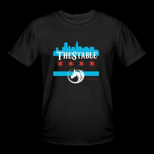 Stars Skyline - white - Men's Moisture Wicking Performance T-Shirt