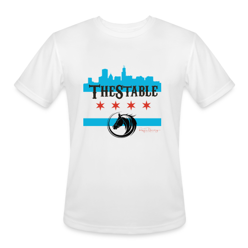 Skyline. - black -  Moisture Wicking Performance T-Shirt - Men's Moisture Wicking Performance T-Shirt