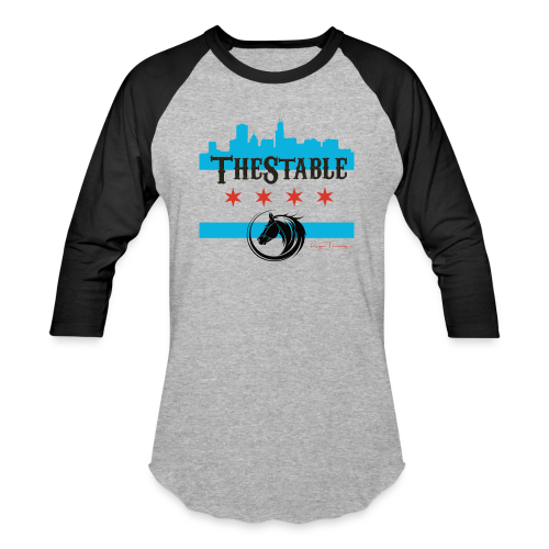 Stars Skyline - black - jersey - Baseball T-Shirt