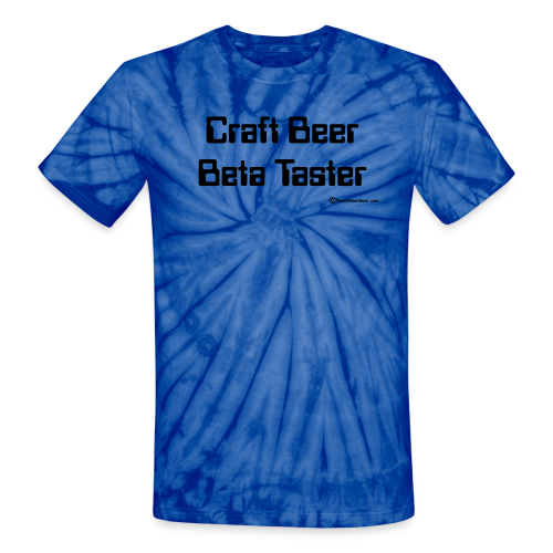 Craft Beer Beta Taster Tie Dye T-Shirt - Unisex Tie Dye T-Shirt