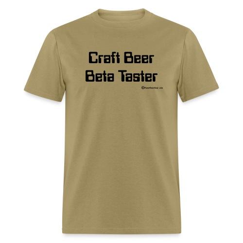 Craft Beer Beta Taster Men's T-Shirt - Men's T-Shirt