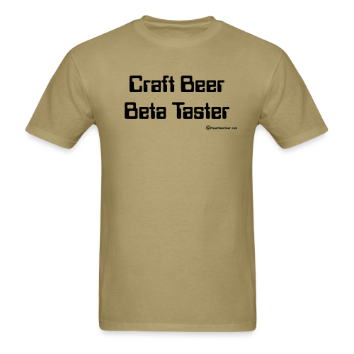 Craft Beer Beta Taster Men's T-Shirt - Men's T-Shirt