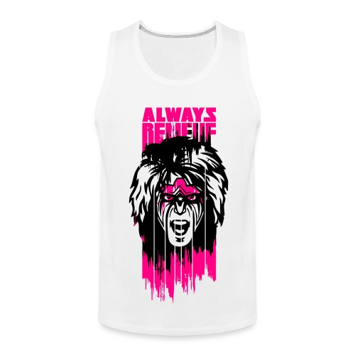 Ultimate Warrior Always Believe Paint Run Tank Top - Men's Premium Tank