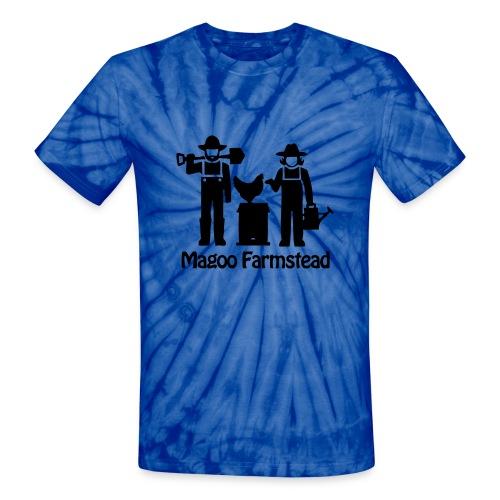 Farmer Karl's Logo Tie-Dye Tee - Unisex Tie Dye T-Shirt
