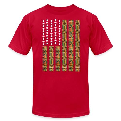 Men Africa Red - Men's Fine Jersey T-Shirt