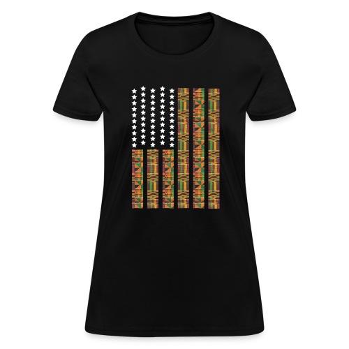 Women Africa Black - Women's T-Shirt