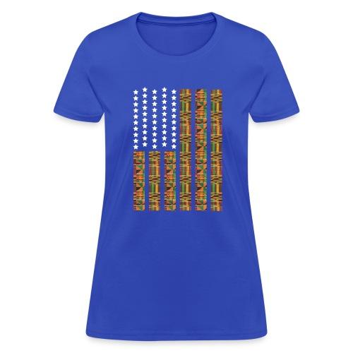 Women Africa Blue - Women's T-Shirt