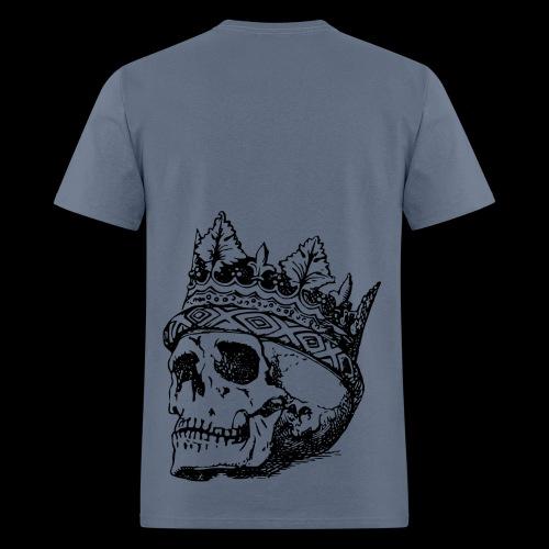 BACK SKULL - Men's T-Shirt