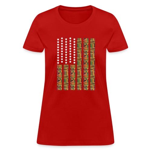 Women Africa Red - Women's T-Shirt