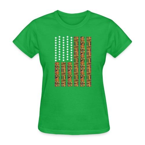 Women Africa Green - Women's T-Shirt