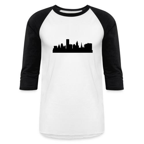 Providence Skyline  - Baseball T-Shirt