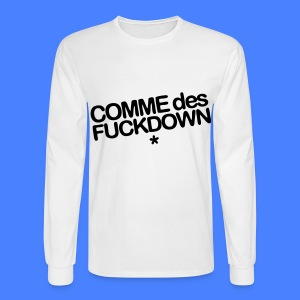 Comme Des Fuckdown Long Sleeve Shirts - Men's Long Sleeve T-Shirt