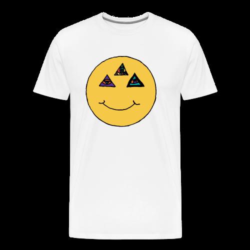 Illuminati Smile men's Premium t-shirt - Men's Premium T-Shirt