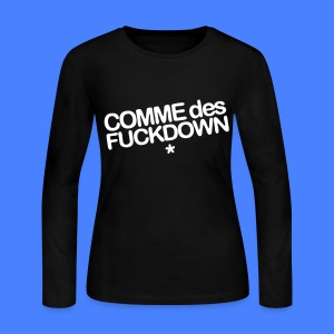 Comme Des Fuckdown Long Sleeve Shirts - Women's Long Sleeve Jersey T-Shirt