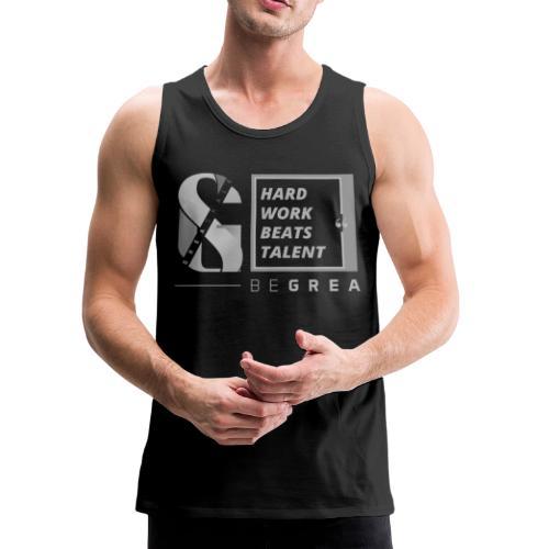 Hard Work Beats Talent - Men's Premium Tank