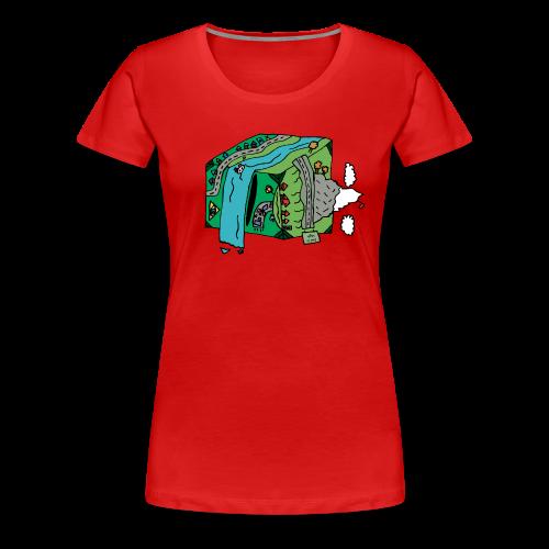 End is Nigh Women's premium T-shirt - Women's Premium T-Shirt