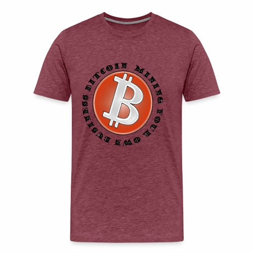 bitcoin mining your own business - Men's Premium T-Shirt