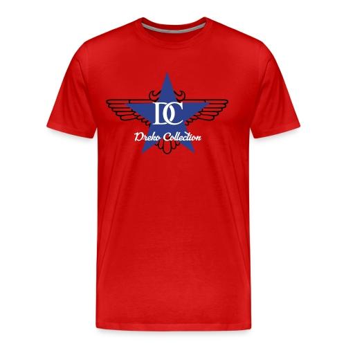 Dreko Blue Star - Men's Premium T-Shirt