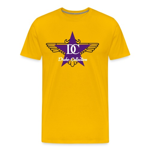 Dreko Purple Star - Men's Premium T-Shirt