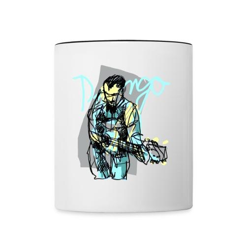 django rheinhardt - Contrast Coffee Mug
