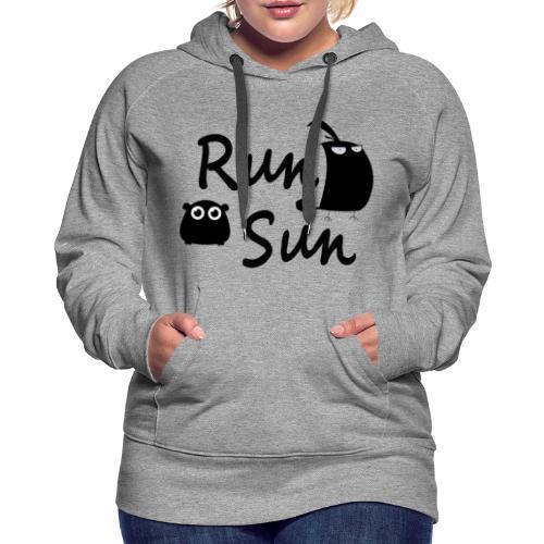 Run Sun Hoodie - Women's Premium Hoodie