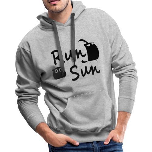 Run Sun Hoodie - Men's Premium Hoodie